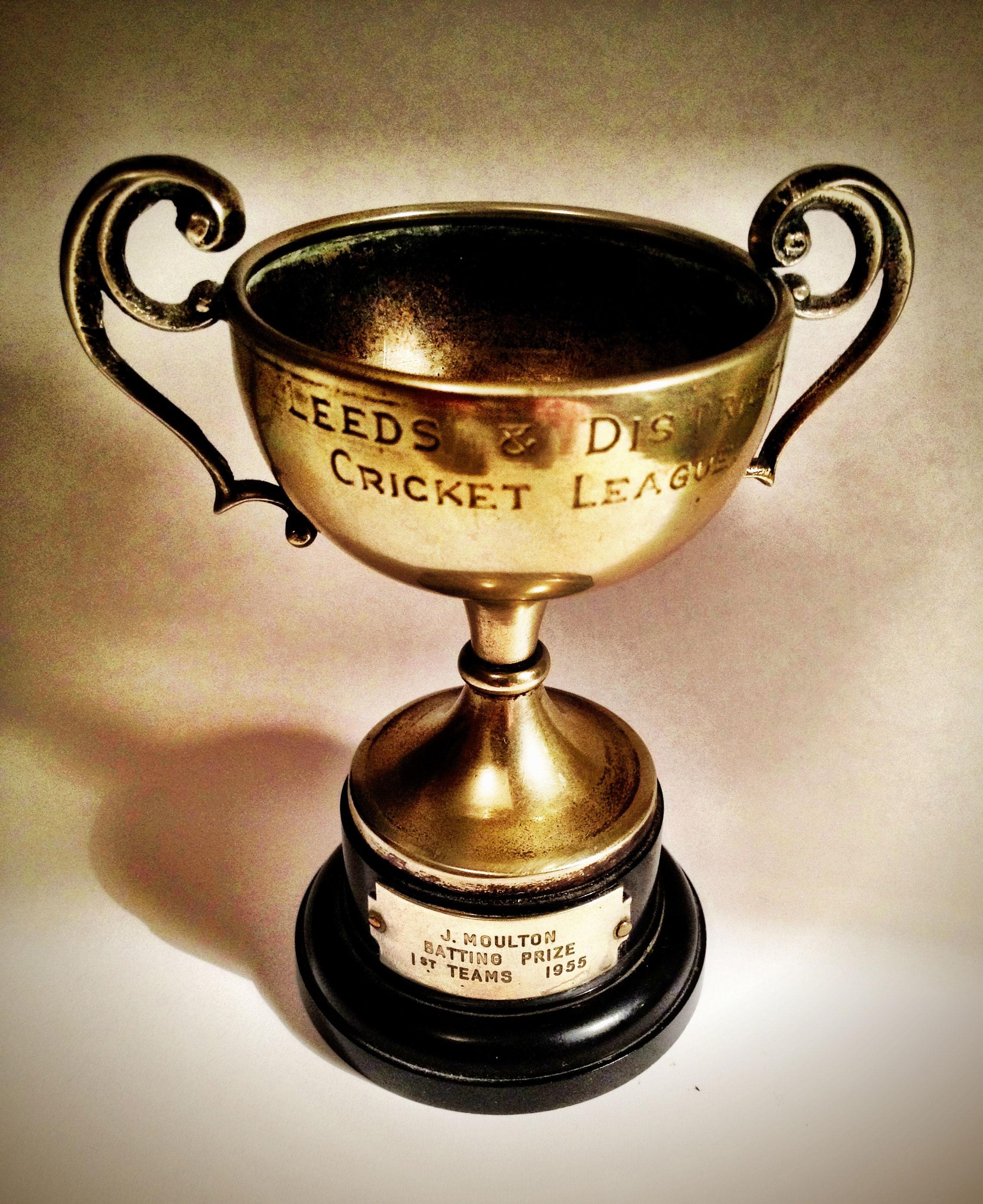 L. & D.C.L. batting Prize 1955