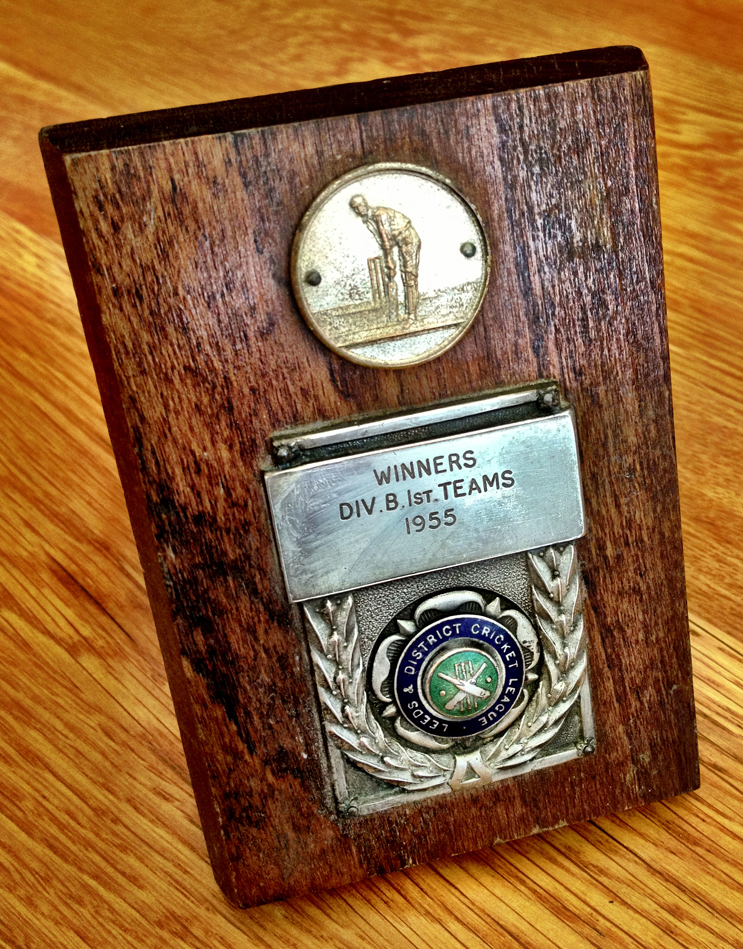 Div B 1st Teams Winners Trophy 1955