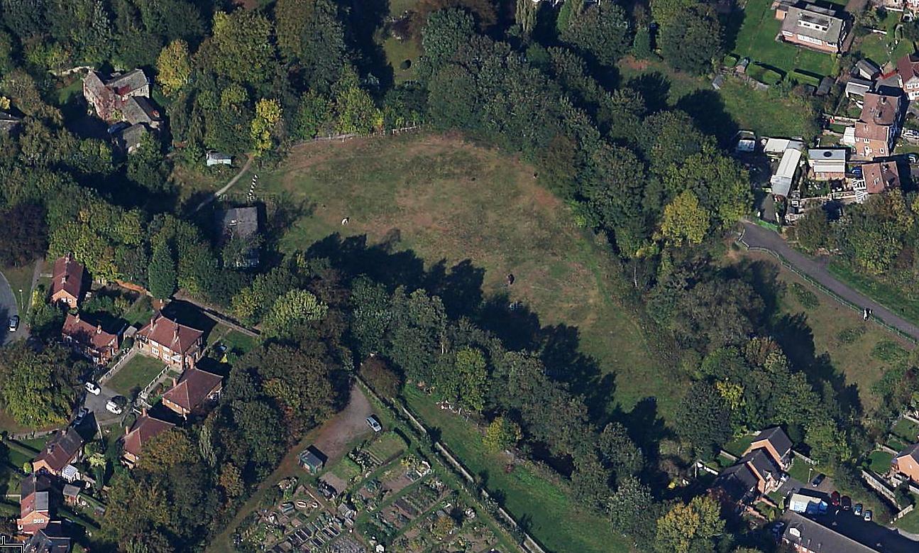 Highbury Ground from Satellite