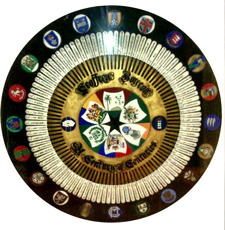 Geoff Boycotts Century of Centuries Shield
