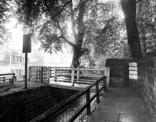 Bridge to Meanwood Park 1
